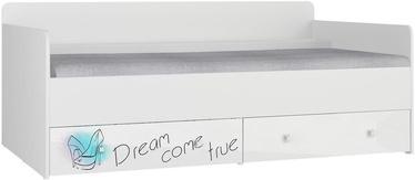 Кровать Tuckano Bella 12 White, 194x94 см