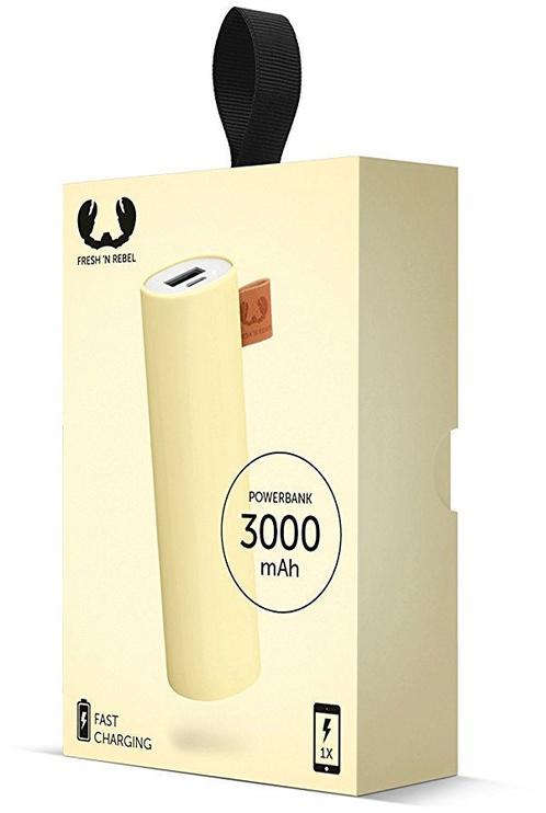 Fresh 'n Rebel Power Bank 3000mAh Buttercup