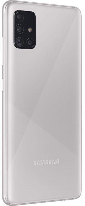 Mobilais telefons Samsung Galaxy A51 SM-A515 Haze Crush Silver, 128 GB