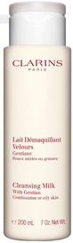 Средство для снятия макияжа Clarins Cleansing Milk With Gentian Combination & Oily Skin, 200 мл