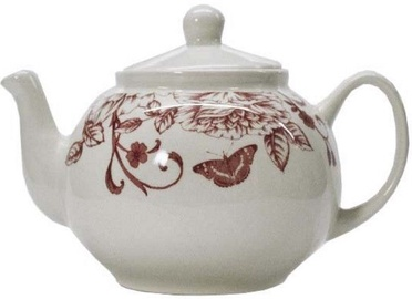 Claytan Shabby Chic Pink Teapot 1.15l