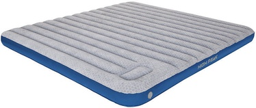 High Peak Cross Beam King Extra Long Mattress Grey/Blue 40047