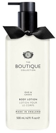 Лосьон для тела The English Bathing Company Boutique Oud & Cassis, 500 мл