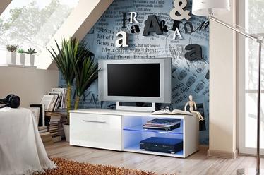ТВ стол ASM Bono IV, белый, 1200x450x350 мм