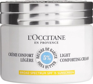 Sejas krēms L´Occitane Shea Butter Light Comforting Cream SPF15, 50 ml