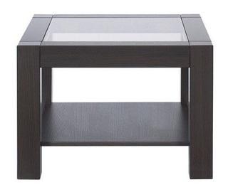 Kafijas galdiņš Black Red White Rumbi II, brūna, 640x640x460 mm