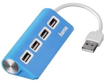 Hama Hub USB 2.0 x4 Blue