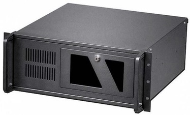 Techly Industrial Rack-mount Chassis ATX 19'' 4U Black