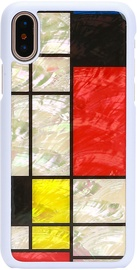 iKins Mondrian Back Case For Apple iPhone X/XS White