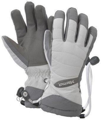 Перчатки Marmot Moraine, белый/серый, M