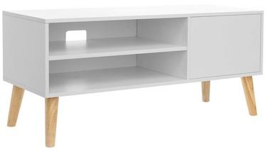 ТВ стол Songmics, коричневый, 1100x400x495 мм