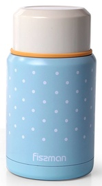 Fissman Vacuum Food Jar 500ml Blue