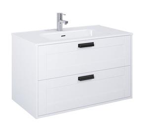 Vannas istabas skapītis Masterjero, balta, 46 x 90 cm x 54 cm