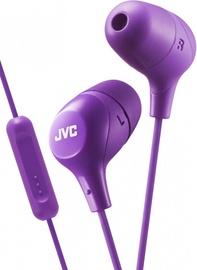 Austiņas JVC HA-FX38M Violet