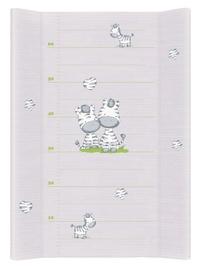 Pārtinamais galds Ceba Baby Comfort Zebra, 70 cm x 50 cm, pelēka
