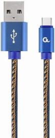 Gembird USB To USB Type - C Premium Denim Blue 2m