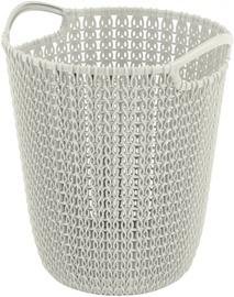 Curver Paper Bin Knit 7L 23x24x27cm White