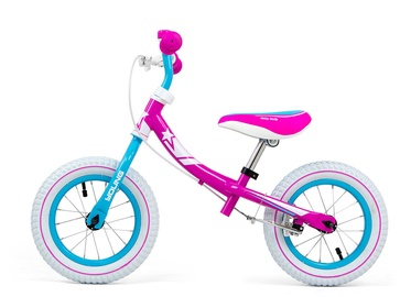 Балансирующий велосипед Milly Mally Young Candy, розовый, 12″