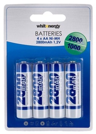 Whitenergy Rechargeable Battery 4 x AA 2800mAh