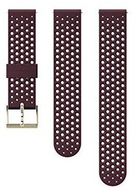 Suunto Athletic1 Silicone Strap Burgundy/Gold S/M