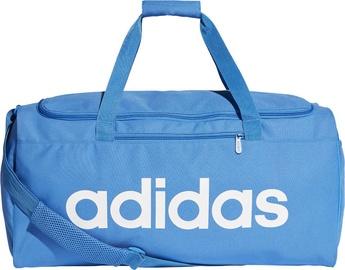 Adidas Linear Core Duffel Bag Medium Blue DT8621