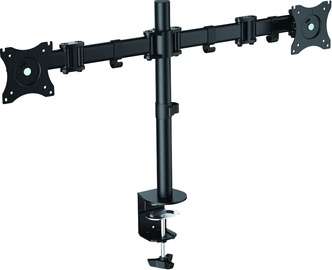 "LogiLink BP0022 Dual Monitor Desk Mount 13-27"" Black"