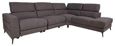 Stūra dīvāns Home4you Mercado, pelēka, 231 x 295 x 77 cm