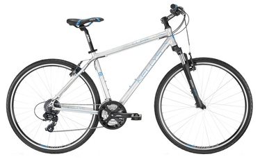 "Velosipēds Kellys Cliff 30 21"" 28"" Silver 16"