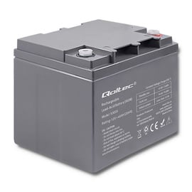 Qoltec AGM Battery 12V 45Ah Max 540A