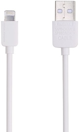 Remax Safe Speed Lightning To USB Data Charger Cable 1.5m White