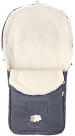 BabyOno Stroller Sleeping Bag Wool Grey