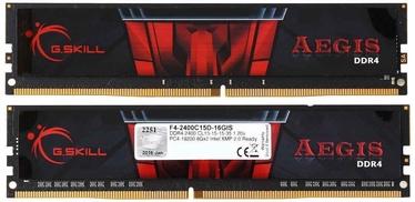 Operatīvā atmiņa (RAM) G.SKILL Aegis F4-2400C15D-16GIS DDR4 16 GB CL15 2400 MHz