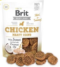 Gardums suņiem Brit Jerky Chicken Meaty Coins 200g