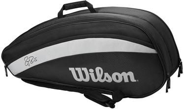 Рюкзак Wilson Roger Federer Team 6 Pack Bag Black, черный