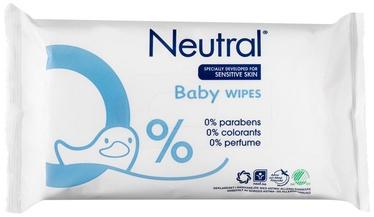 Mitrās salvetes Neutral Baby, 63 gab.