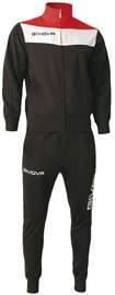 Givova Campo Tracksuit Black/Red S