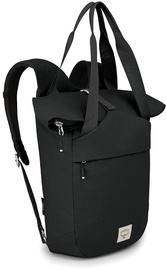 Tūristu mugursoma Osprey Arcane Tote Pack Stonewash, melna, 20 l