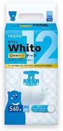 Autiņbiksītes Whito Tape, S, 60 gab.