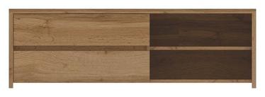 ТВ стол WIPMEB Tahoe TA-02, коричневый, 1400x470x450 мм