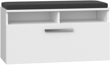 Top E Shop Riva Shoe Cabinet White
