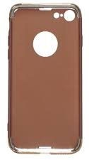 Mocco Electro 3in1 Modern Back Case For Samsung Galaxy S7 Edge Brown