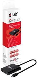 Club 3D MST Hub USB 3.1 Gen1 Type C To HDMI™ 1.4 Dual Monitor Black