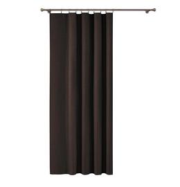Wisan Night Curtains Dark Brown 150x250cm