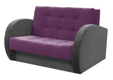 Dīvāngulta Idzczak Meble Sylwia IV Purple/Grey, 139 x 110 x 90 cm
