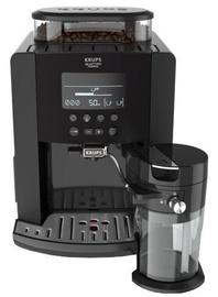 Кофеварка Krups Arabica Latte EA819N Black (поврежденная упаковка)