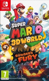 Игра Nintendo Switch Super Mario 3D World + Bowser's Fury SWITCH
