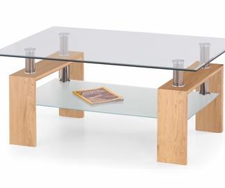 Kafijas galdiņš Halmar Diana Max Golden Oak, 1200x700x500 mm