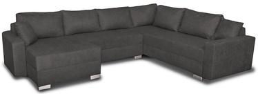 Stūra dīvāns Platan Gustaw Soro 97 Grey, 315 x 135 x 87 cm