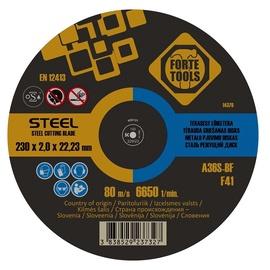 Griešanas disks Forte Tools 406431, 230 mm x 2 mm