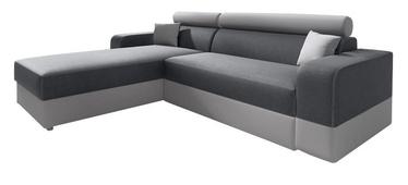 Угловой диван Idzczak Meble Infinity Lux Grey/Light Grey, левый, 184 x 184 x 95 см